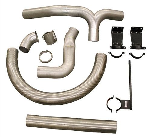 Peterbilt Kenworth Glider Kit Exhaust Piping Kits For Sale: Kenworth Exhaust Systems At Woreks.co