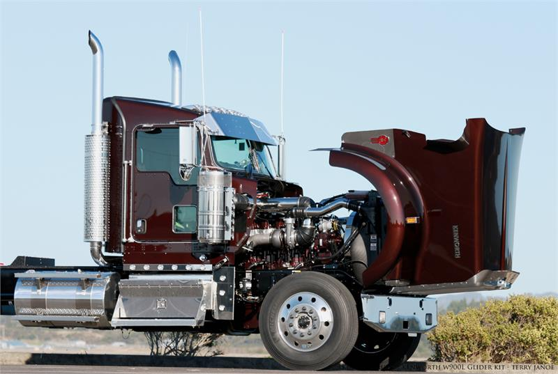 Kenworth glider kits trucks are available from Kustom ...