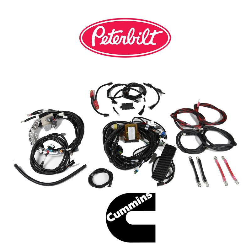 Peterbilt Namux3 Glider Harness Master Kit Cummins Isx