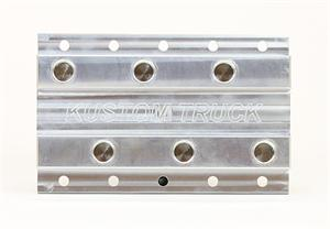 Coolant Distribution Manifold - Common Rail 3 Port Manifold Without Fittings for a Kenworth-Peterbilt-Freightliner