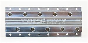 Coolant Distribution Manifold - Common Rail 5 Port Manifold Without Fittings for a Kenworth-Peterbilt-Freightliner